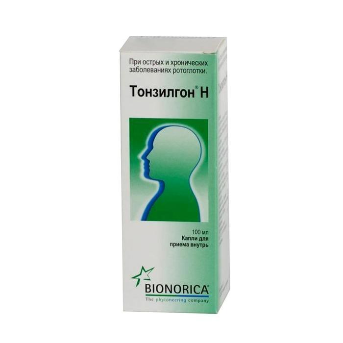 Тонзилгон - препарат, используемый при ингаляции