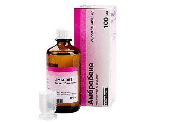 Амбробене – это муколитический препарат в таблетках и сиропе