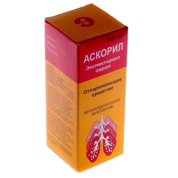 Аскорил эффективен при кашле