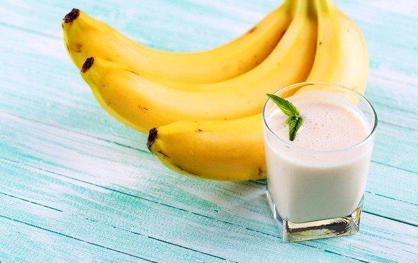 Банан с молоком от кашля - эффективное средство от кашля