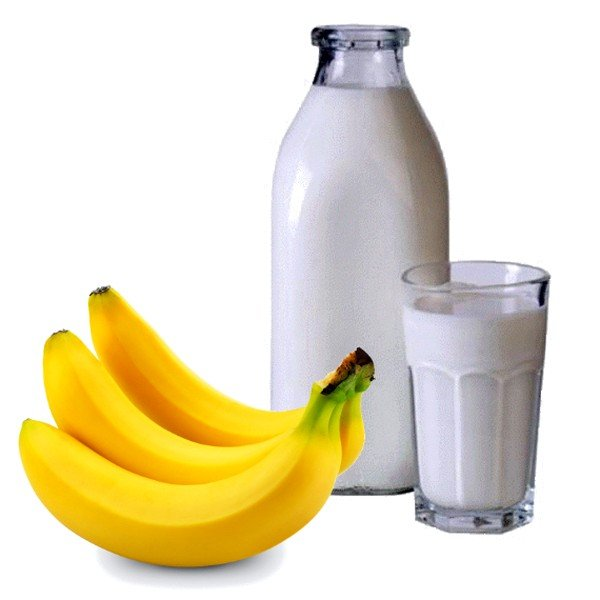Молоко с бананом от кашля: эффективные рецепты фото