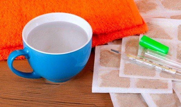 Для увеличения лечебного эффекта необходимо на горчичники сверху положить любой утепляющий материал