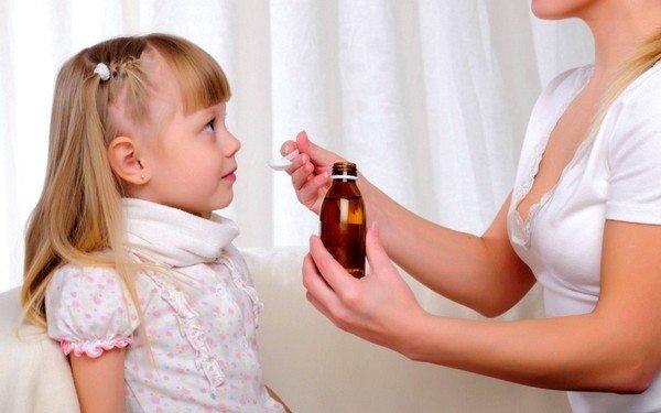 После 2 лет ребенку можно давать сироп