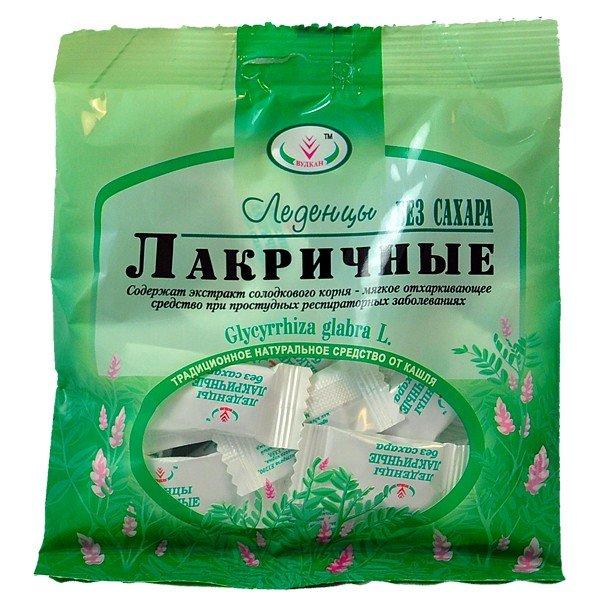 С возраста 2 лет рекомендуется использовать только лакричные леденцы с экстрактом корня солодки