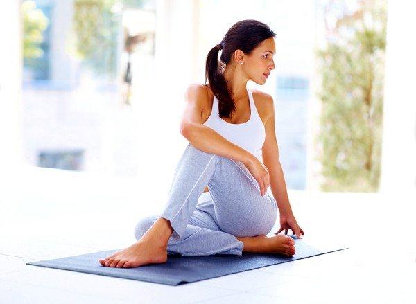 При остеохондрозе полезны физические упражнения