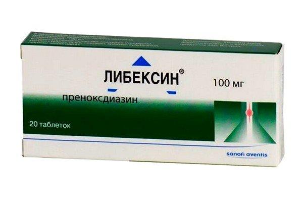 Либексин применяется при сильном кашле