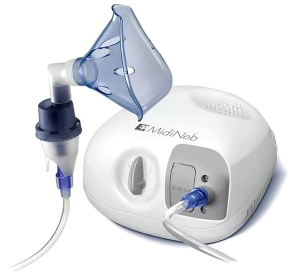 Небулайзер эффективен при лечении пораженных зон бронхолегочной системы