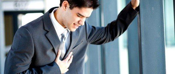Невралгии могут вызвать боли в груди