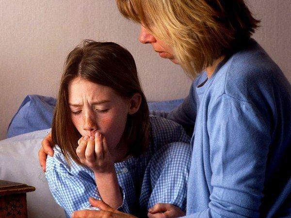 Ночные приступы кашля вызваны чаще всего отёком слизистой оболочки гортани и нижних отделов дыхательного тракта