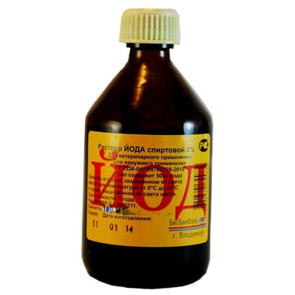 Для более эффективного лечения к гидрокарбонату натрия можно добавить йод