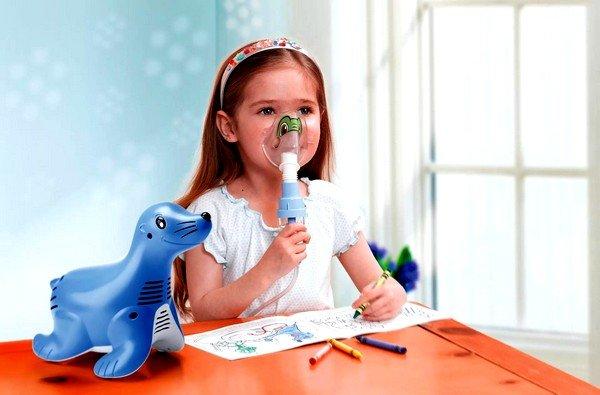 Быстрая помощь при сухом кашле — ингаляция с физраствором фото