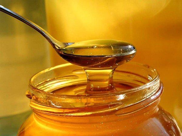Мед для процедуры нужен жидкий