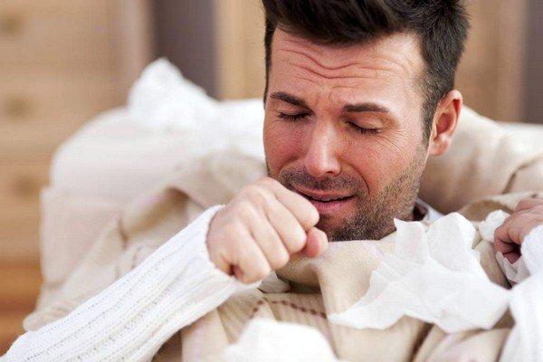 Причиной сухого кашля могут быть неблагоприятные условия