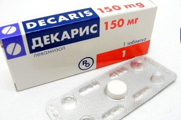 При заболевании часто назначается Декарис