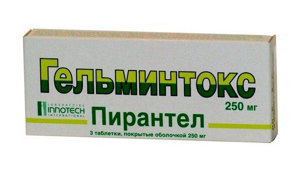 На ранней стадии заболевания используют Гельминтокс или Минтезол