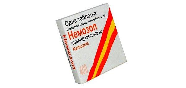 Одним из самых эффективных препаратов считается Немозол