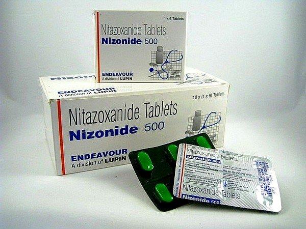 Нитозоксанид имеет широкий спектр действия