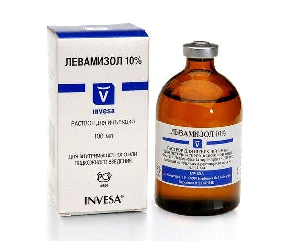 Левамизо́л — антигельминтное средство. Обладает также свойствами иммуномодулятора.
