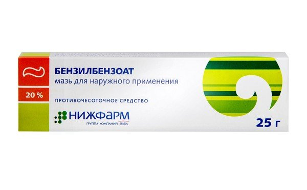 Бензилбензоат эффективен в борьбе с педикулезом