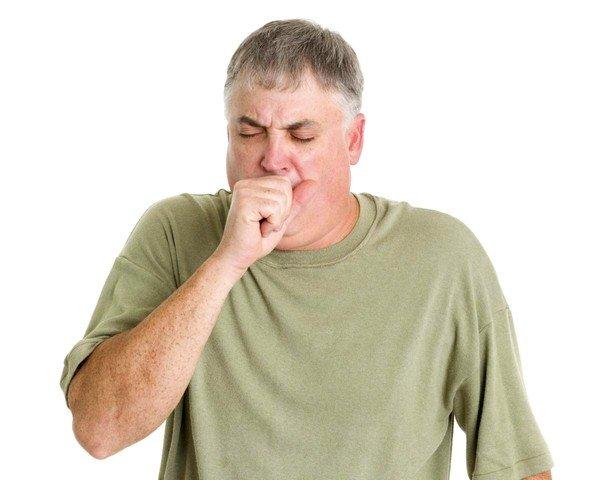 При фасциолезе возможны приступы кашля