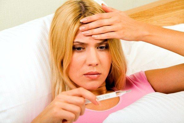 Субфебрильная температура тела может быть признаком токсокароза