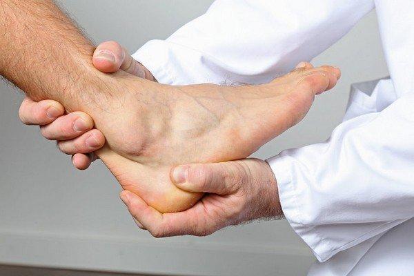 Симптомы артрозе голеностопа
