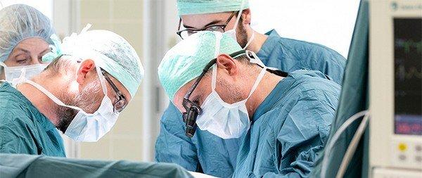 Хирургическое лечение при панкреатите