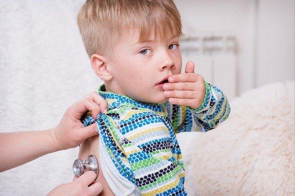 Сердечный кашель у детей