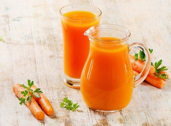 Морковный сок при панкреатите