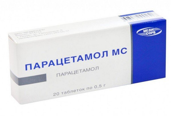 Парацетамол при ангине