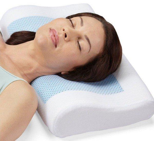 Использование ортопедических подушек