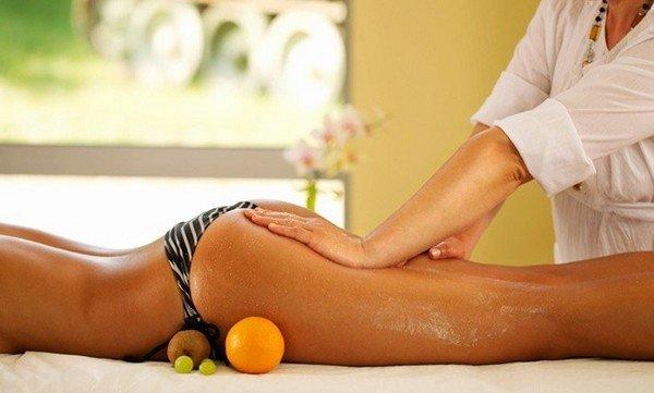 Процедура антицеллюлитного массажа