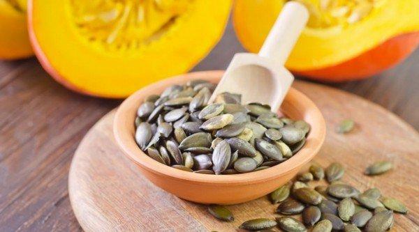 Семена тыквы при аллергии на амброзию